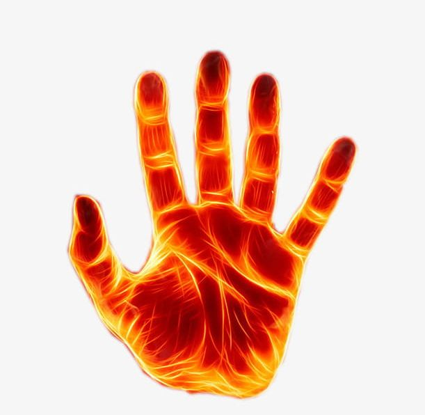 Fire clipart hand. Forces png burning