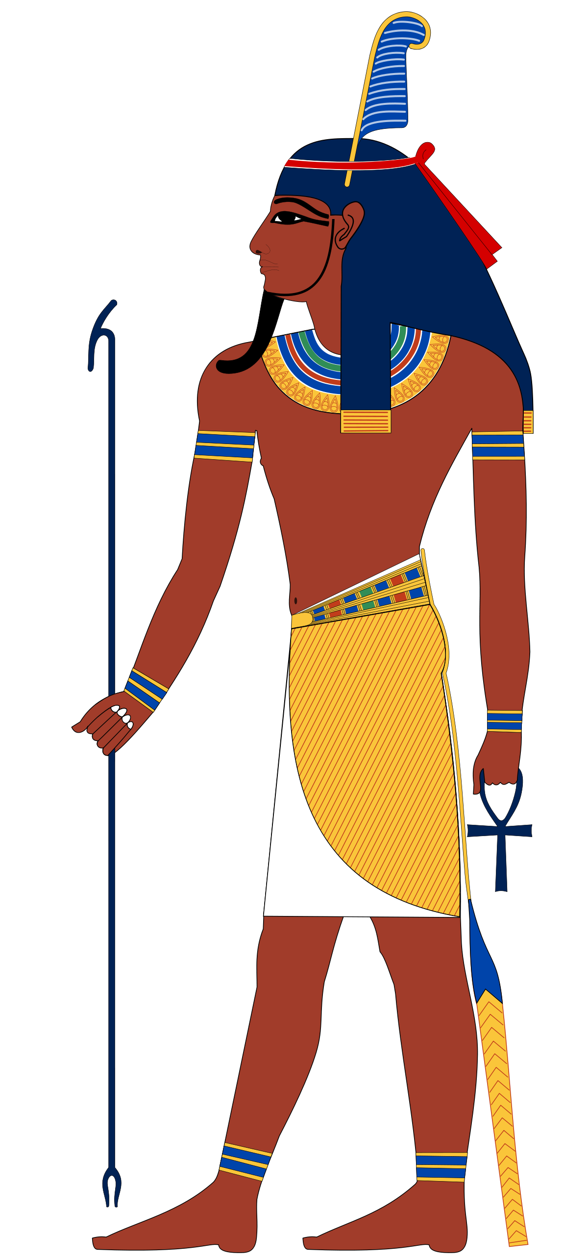 Shu god wikipedia ancient. Egyptian clipart number system