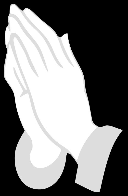 Hand clipart god. Open hands of panda