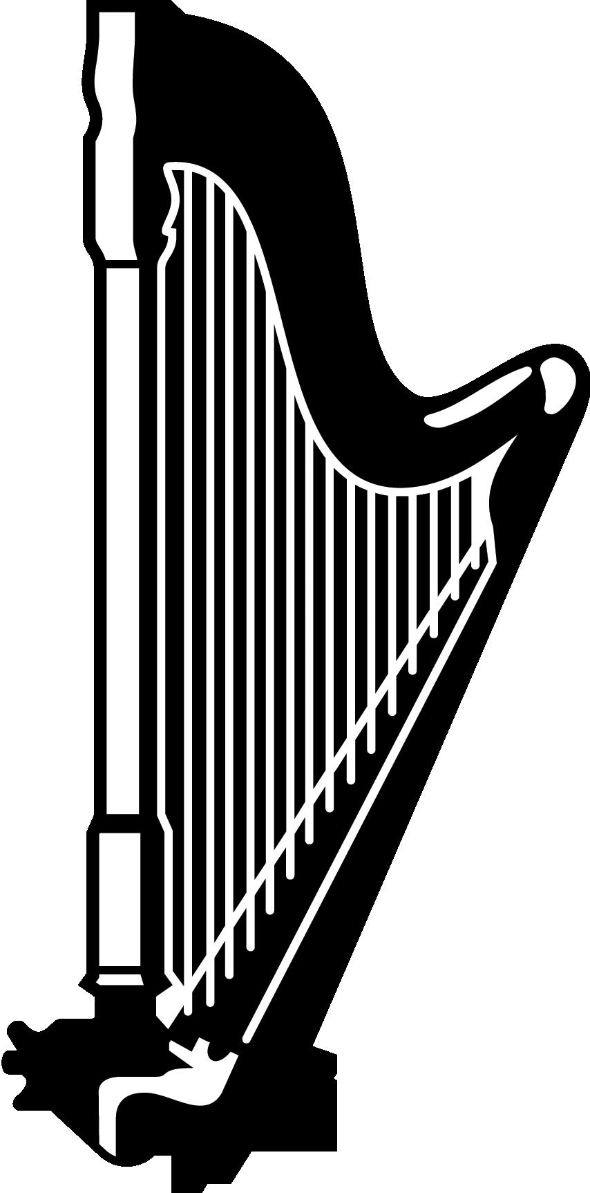 Hand clipart harp. Music