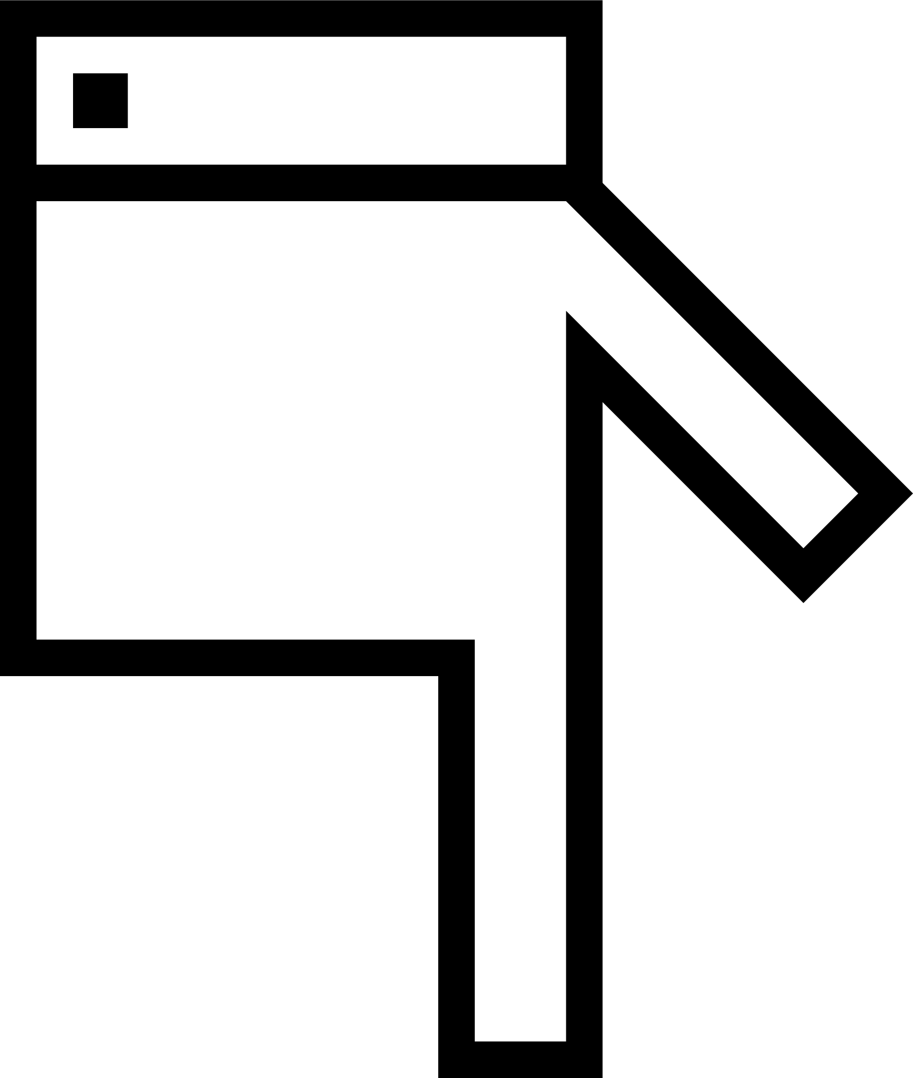 Pointer down big image. Clipart hand hip