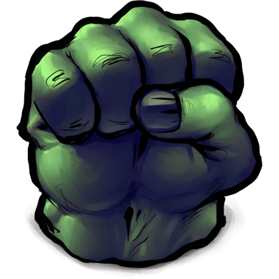 Clipart hands incredible hulk. Logo pencil and in