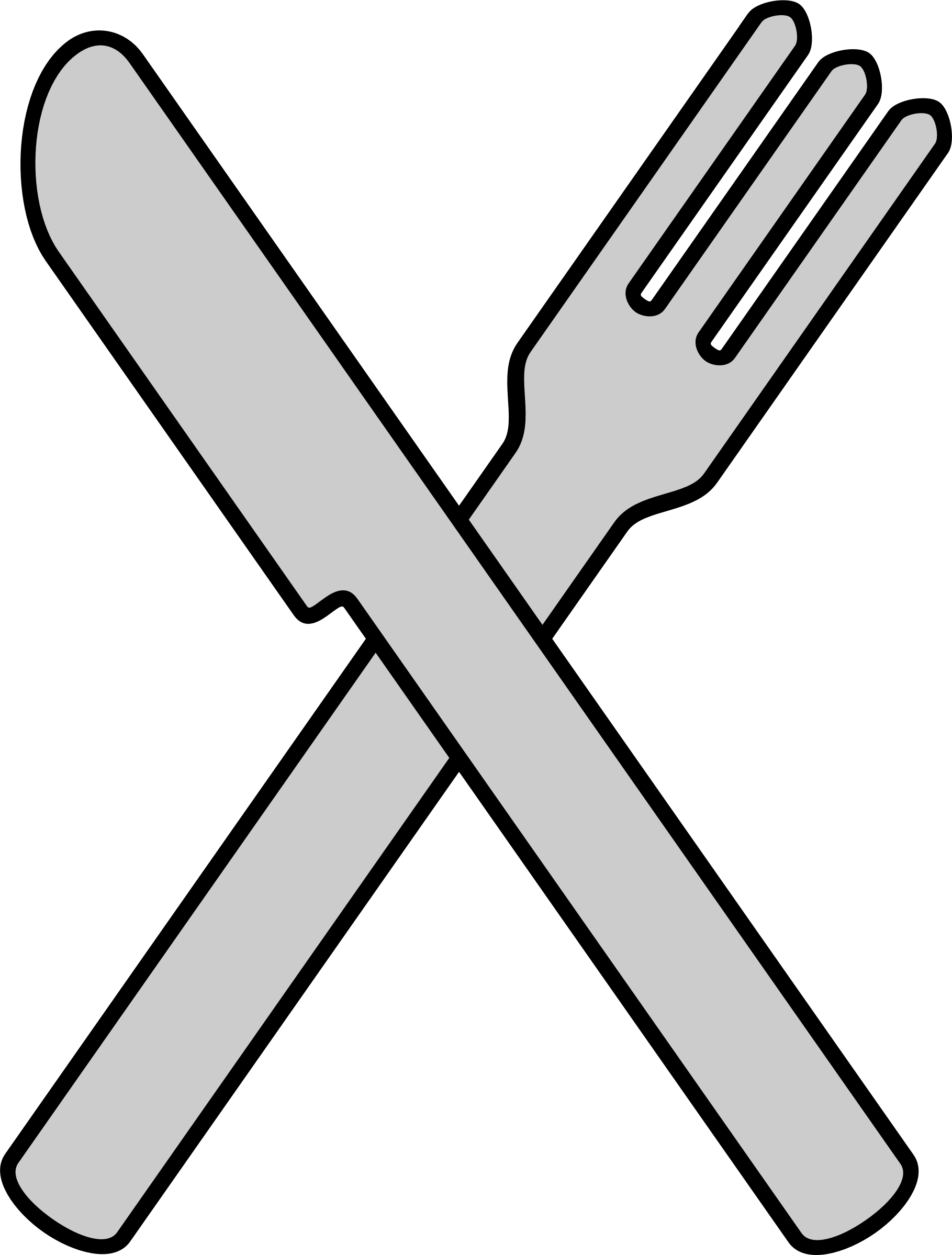 Knife clipart crossed fork. And big image png