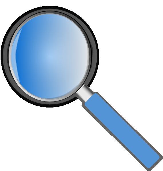 Hand clipart lense. Lens magnifying glass clip