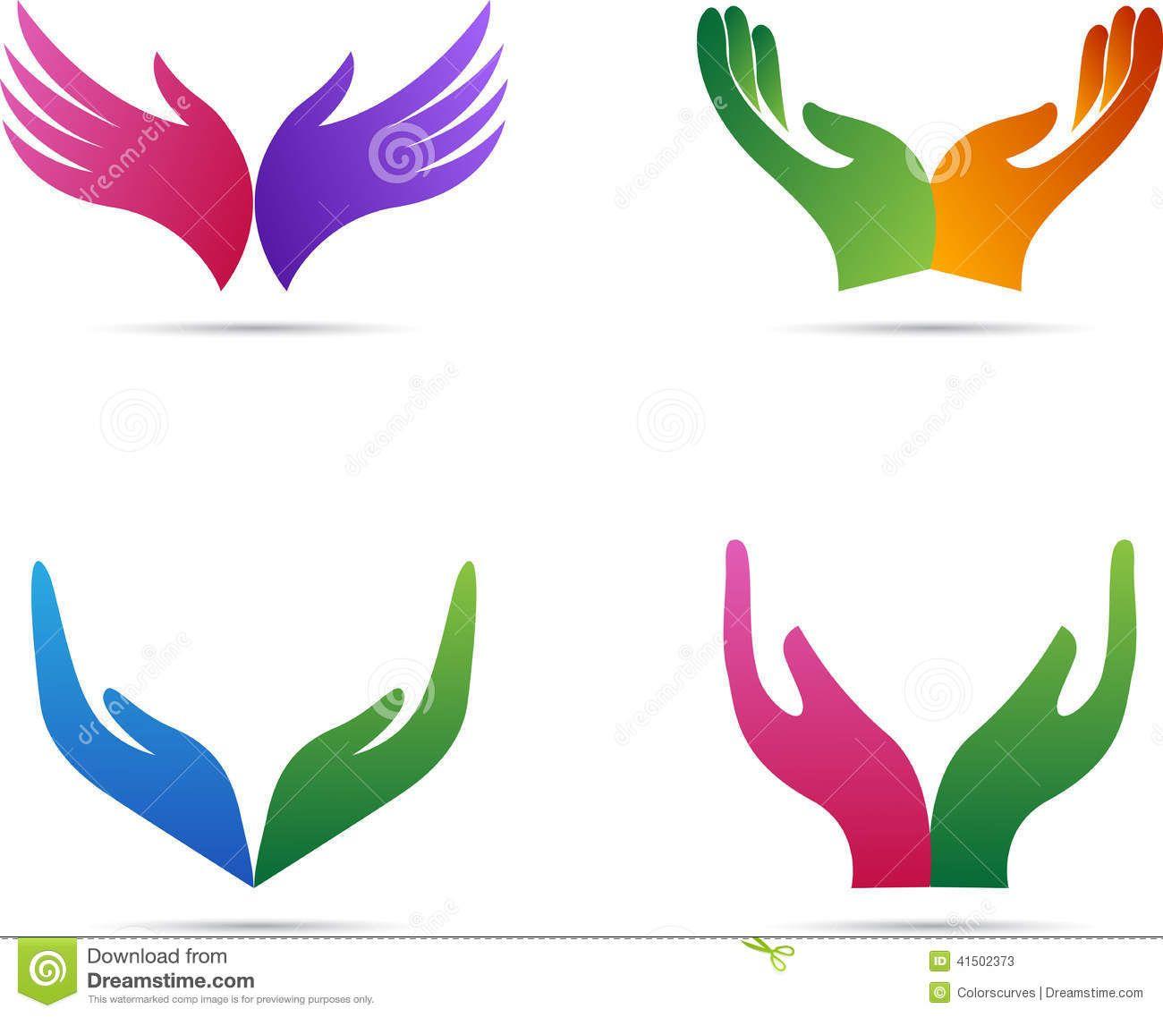 Healing clip art free. Hands clipart logo