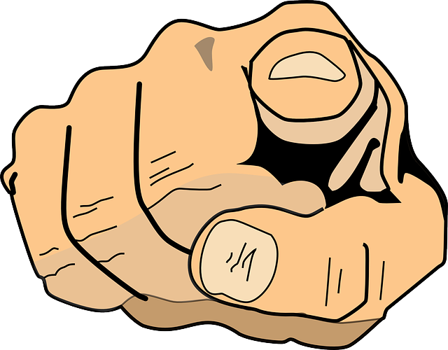 Talk marionette js who. Fingers clipart index finger