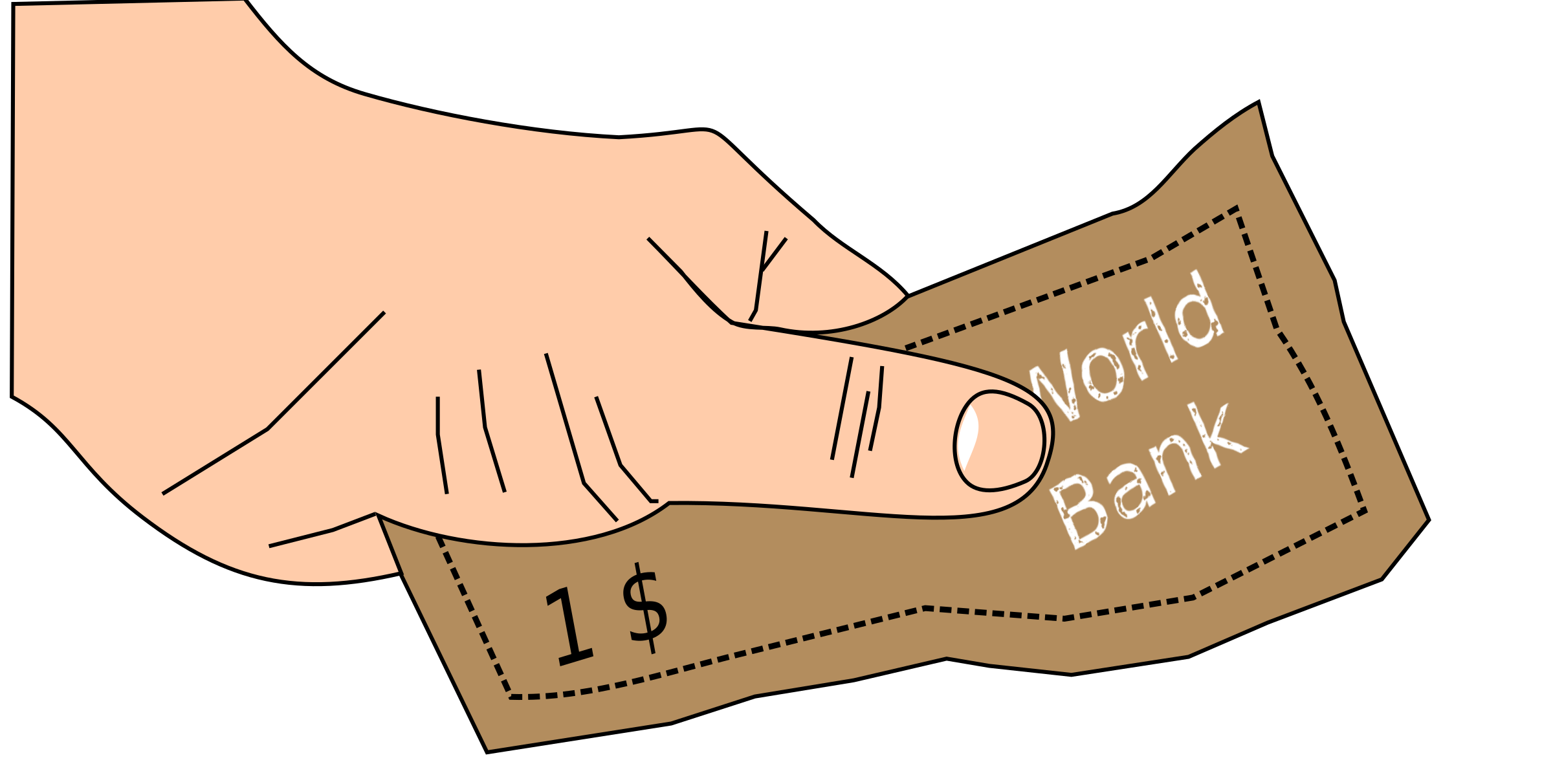 Hand clipart money. In big image png