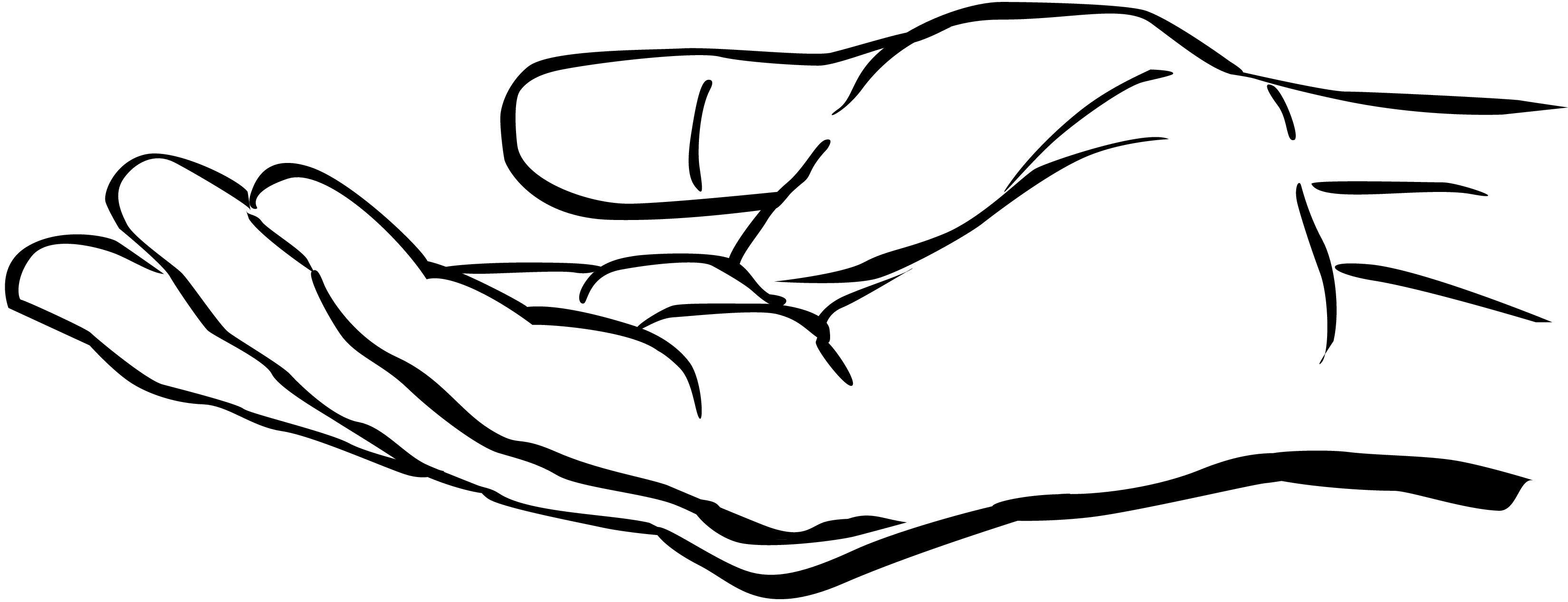 Top praying design jpg. Hands clipart open