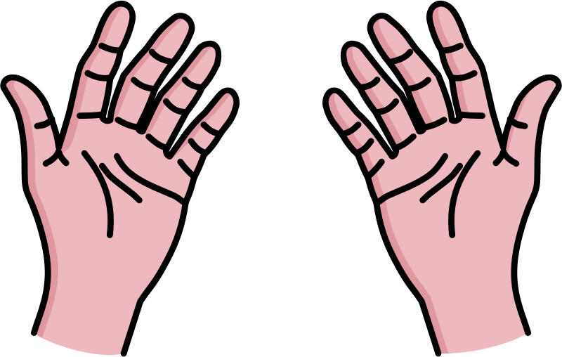 collection of pair. Hands clipart cartoon