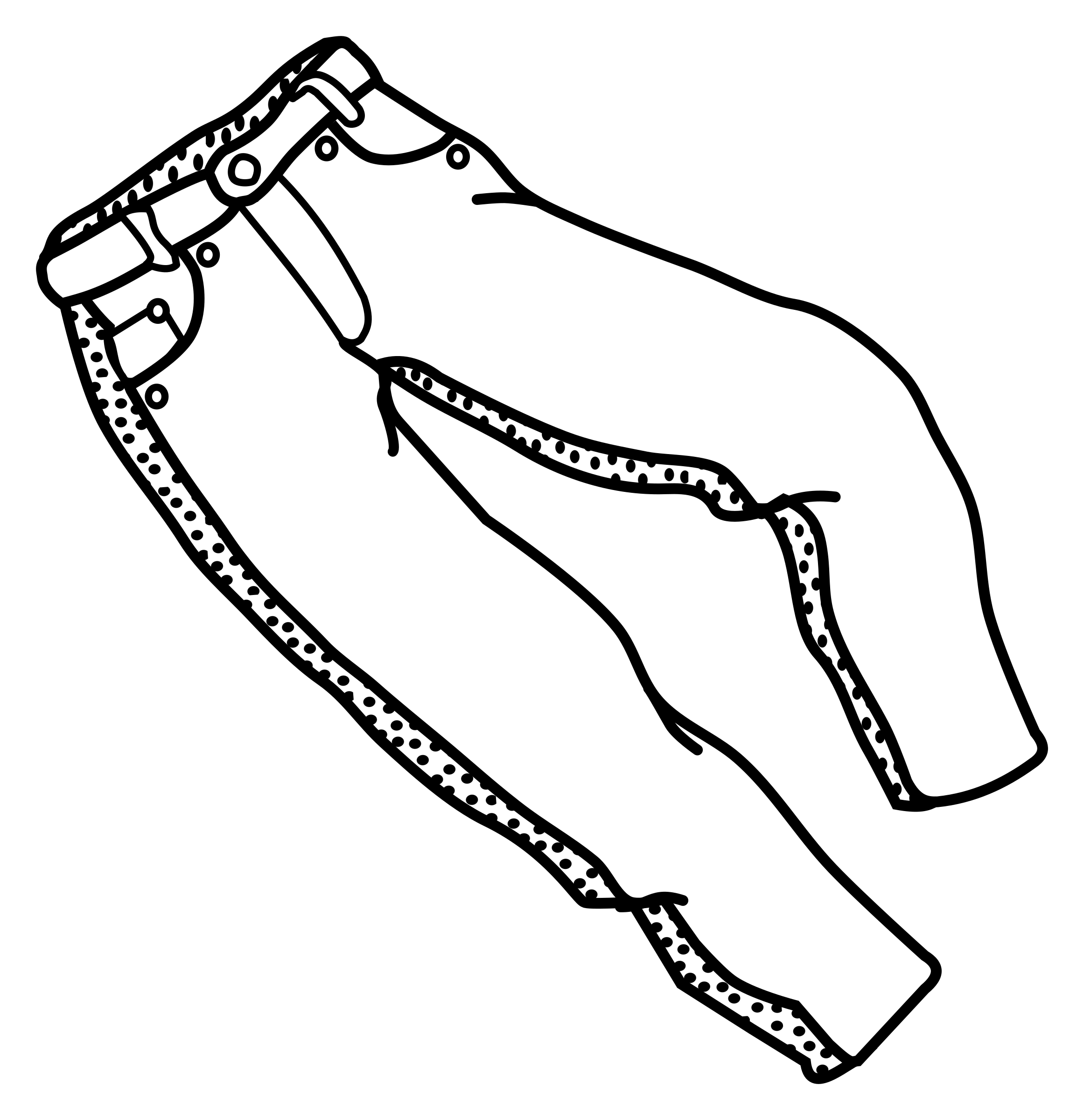 Clothes clipart shorts. Pant outline free on