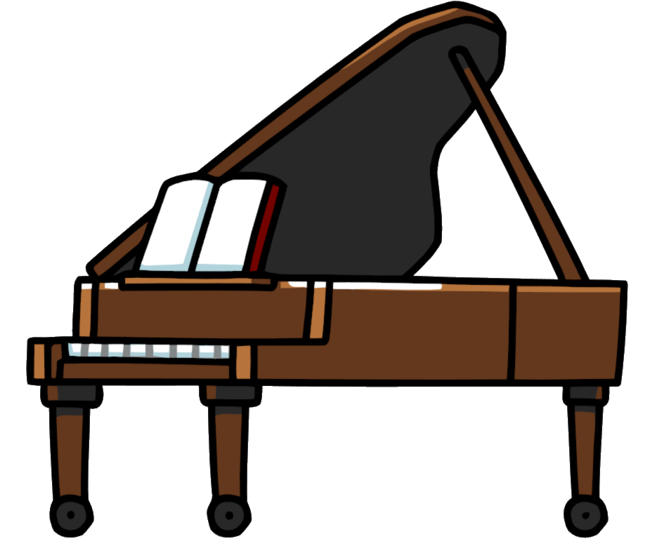 Collection of free harpsichon. Piano clipart piano player