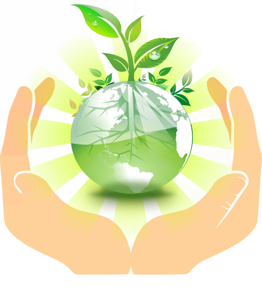 Hands clipart plant. World in our clip