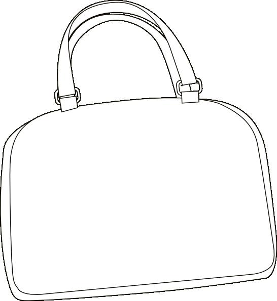 Lady clipart purse. Bag clip art at