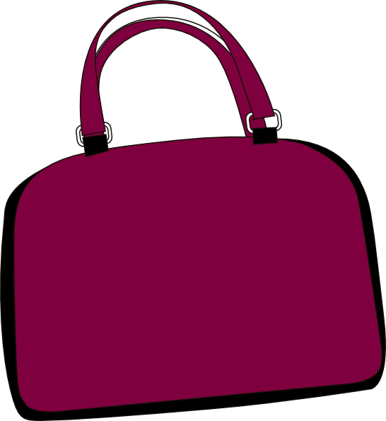Free clip art images. Girly clipart purse