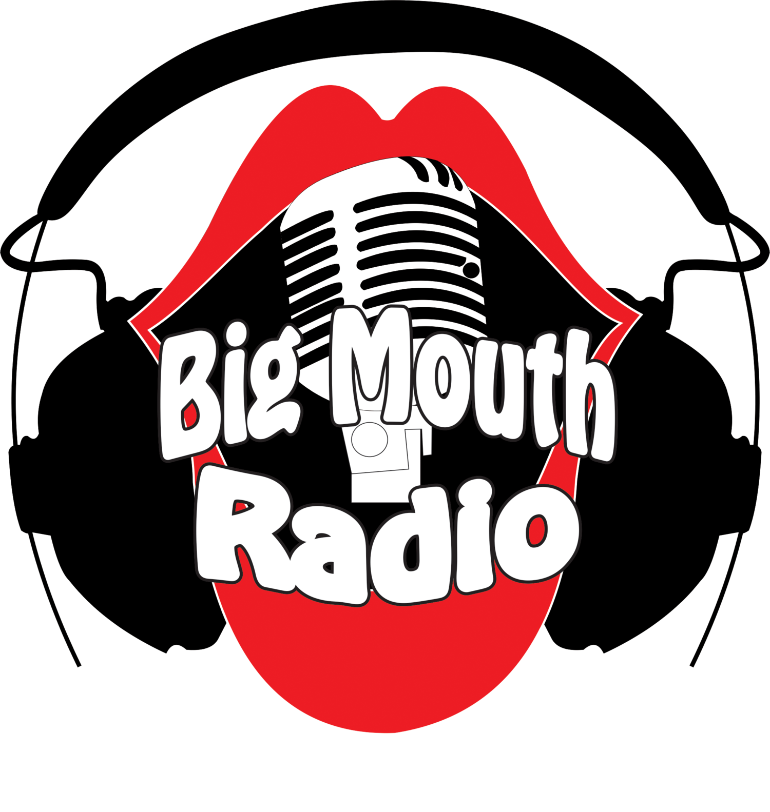 Clipart hands radio. Big mouth