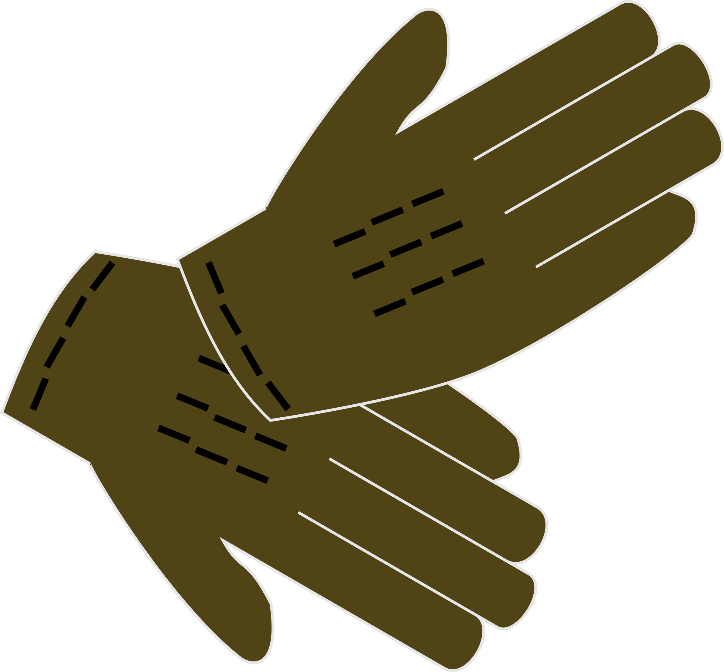Gloves big image png. Glove clipart ppe equipment