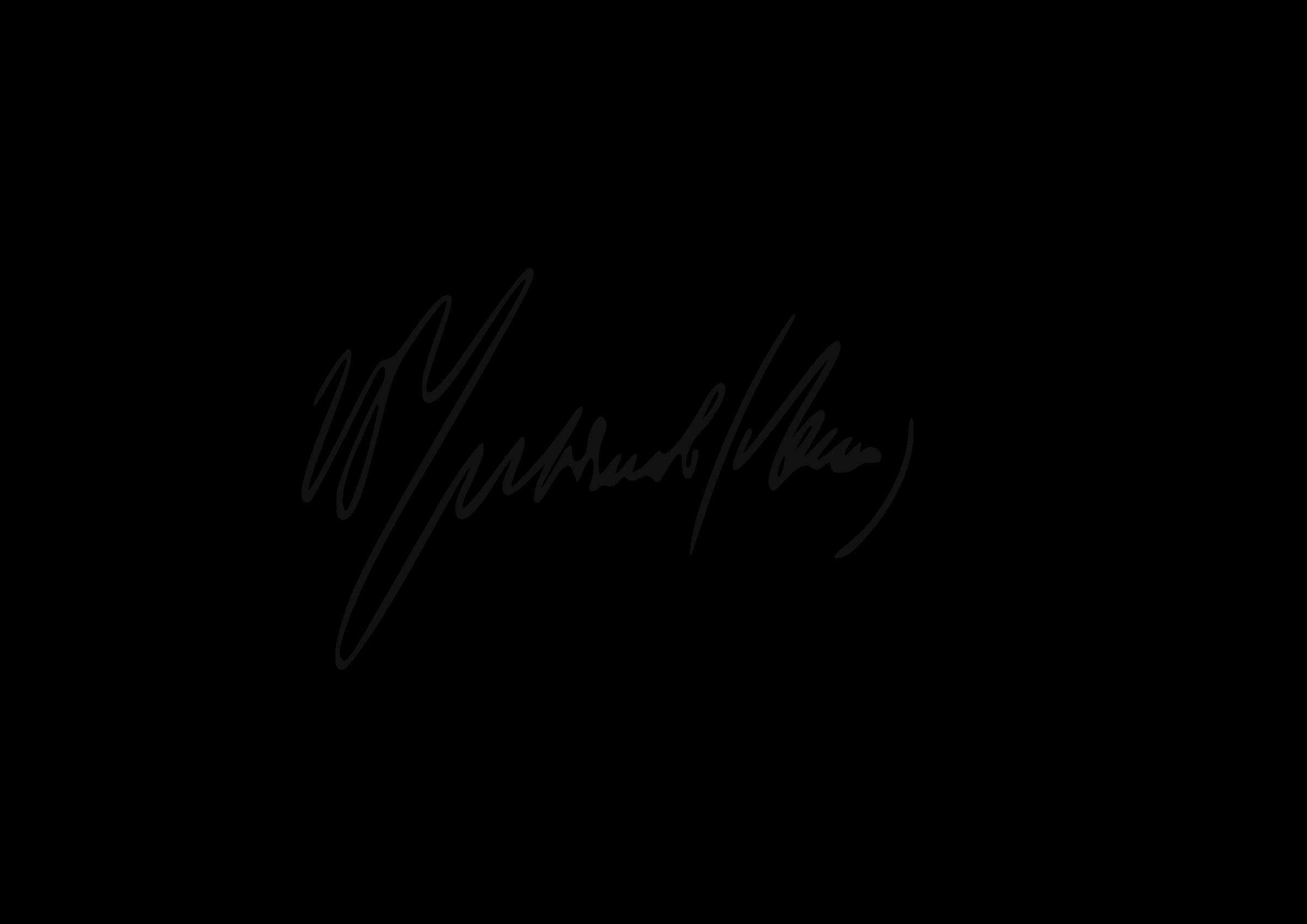 Lenin big image png. Hand clipart signature