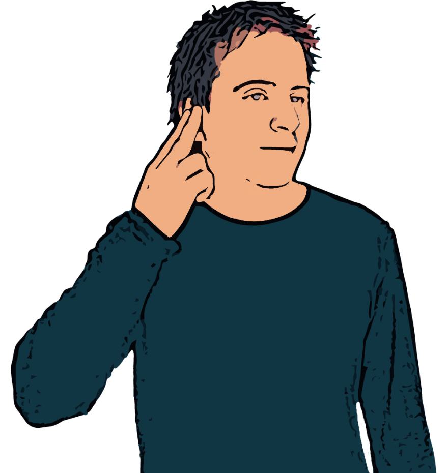 British sign language dictionary. Clipart hand signing