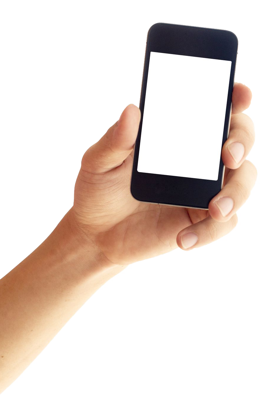 Hands clipart smartphone. In hand png image