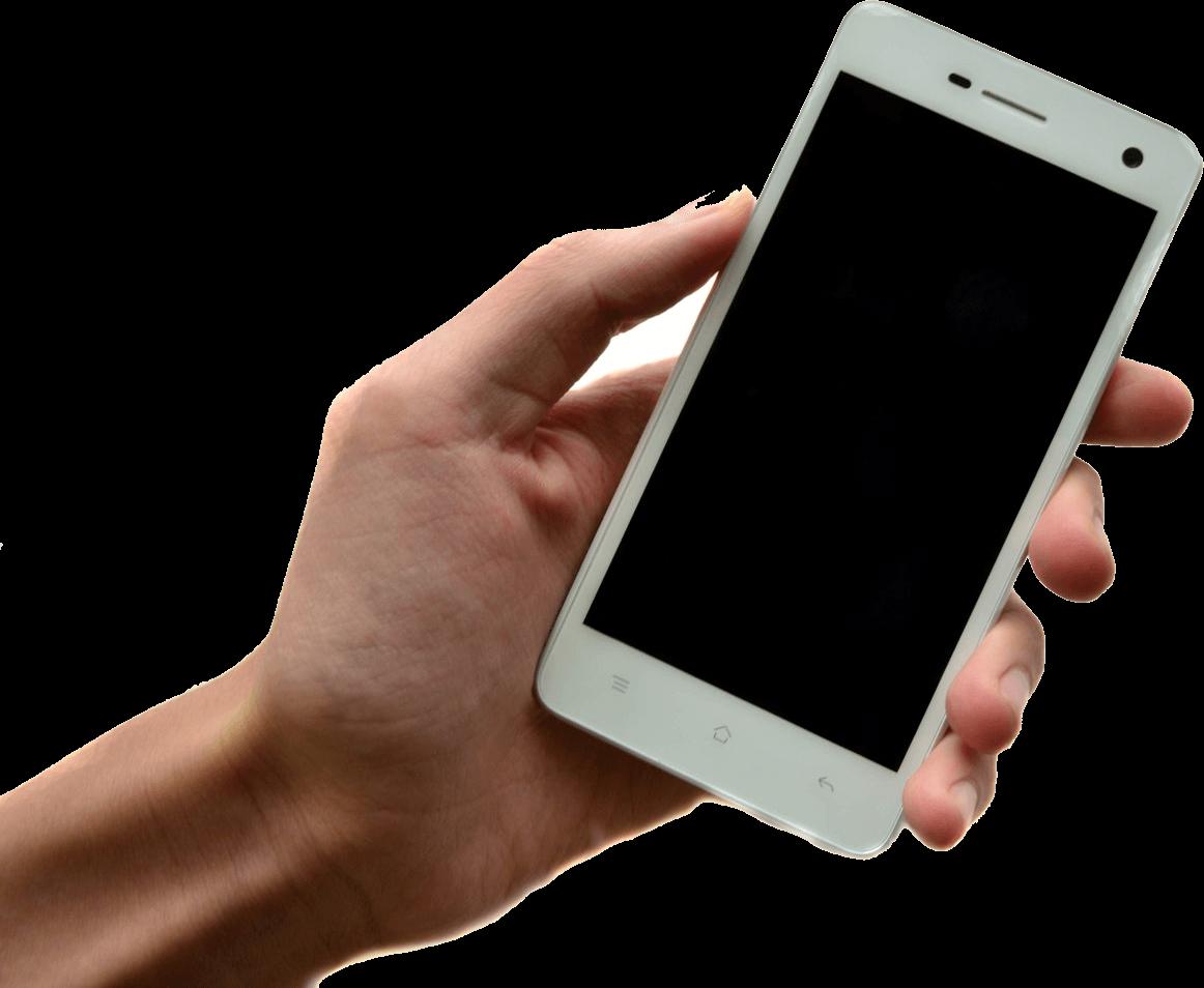 Hand holding samsung transparent. Hands clipart smartphone