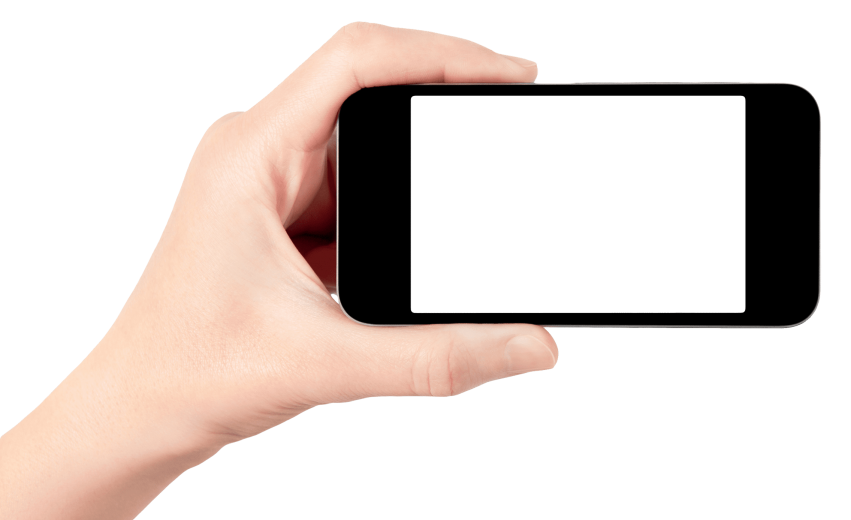 Hand clipart smartphone. Holding png free images