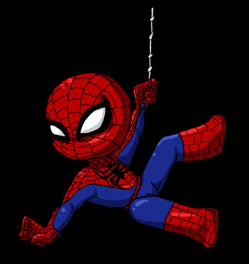 If you love spiderman. Fridge clipart cartoon