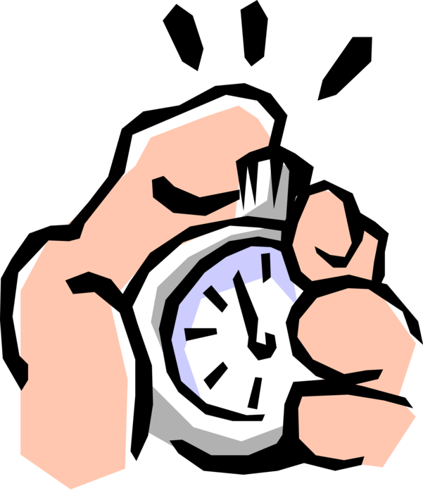 Hands clipart stopwatch. Hand with vector image
