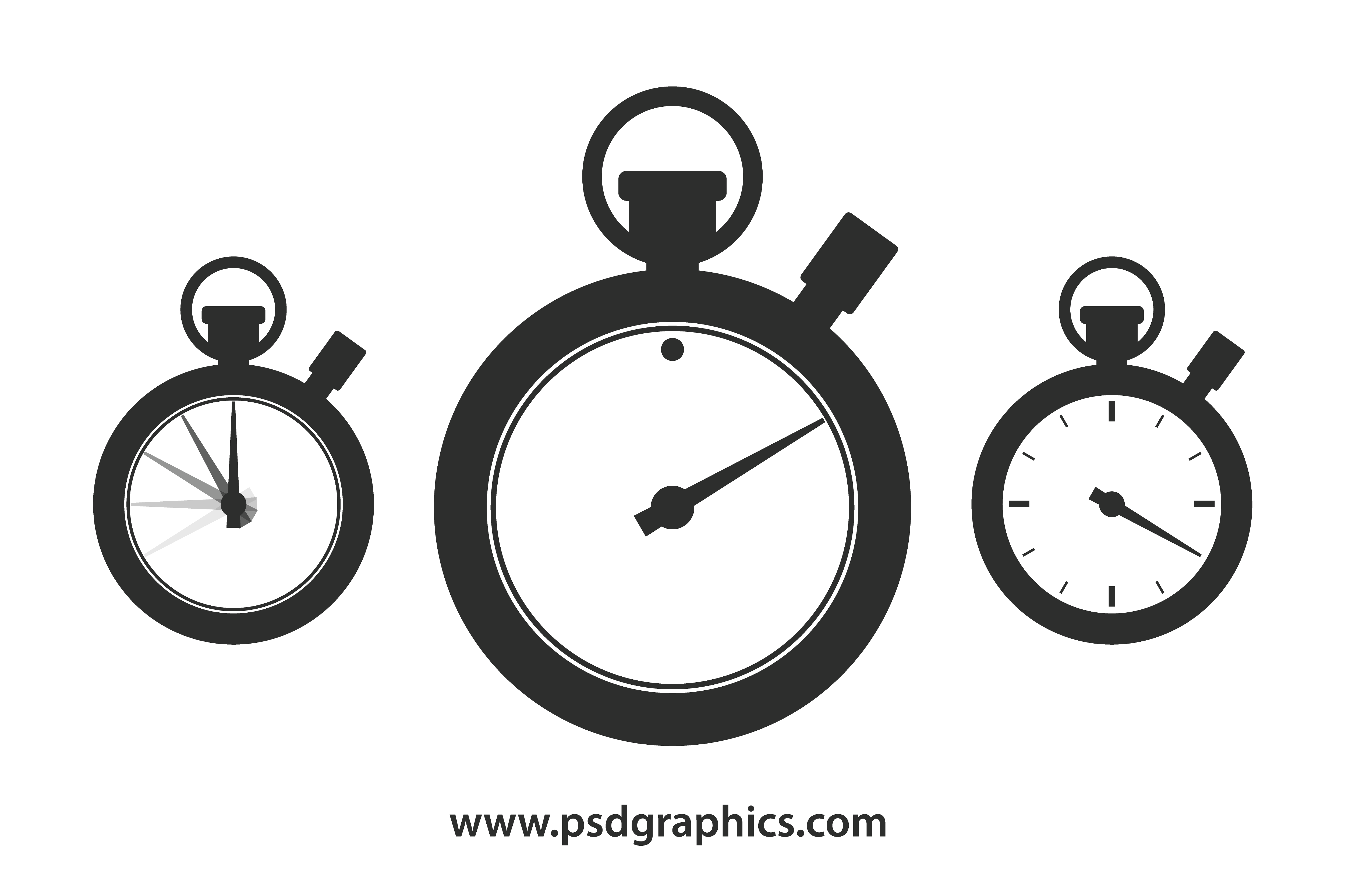 Shape template psdgraphics png. Stopwatch clipart vector