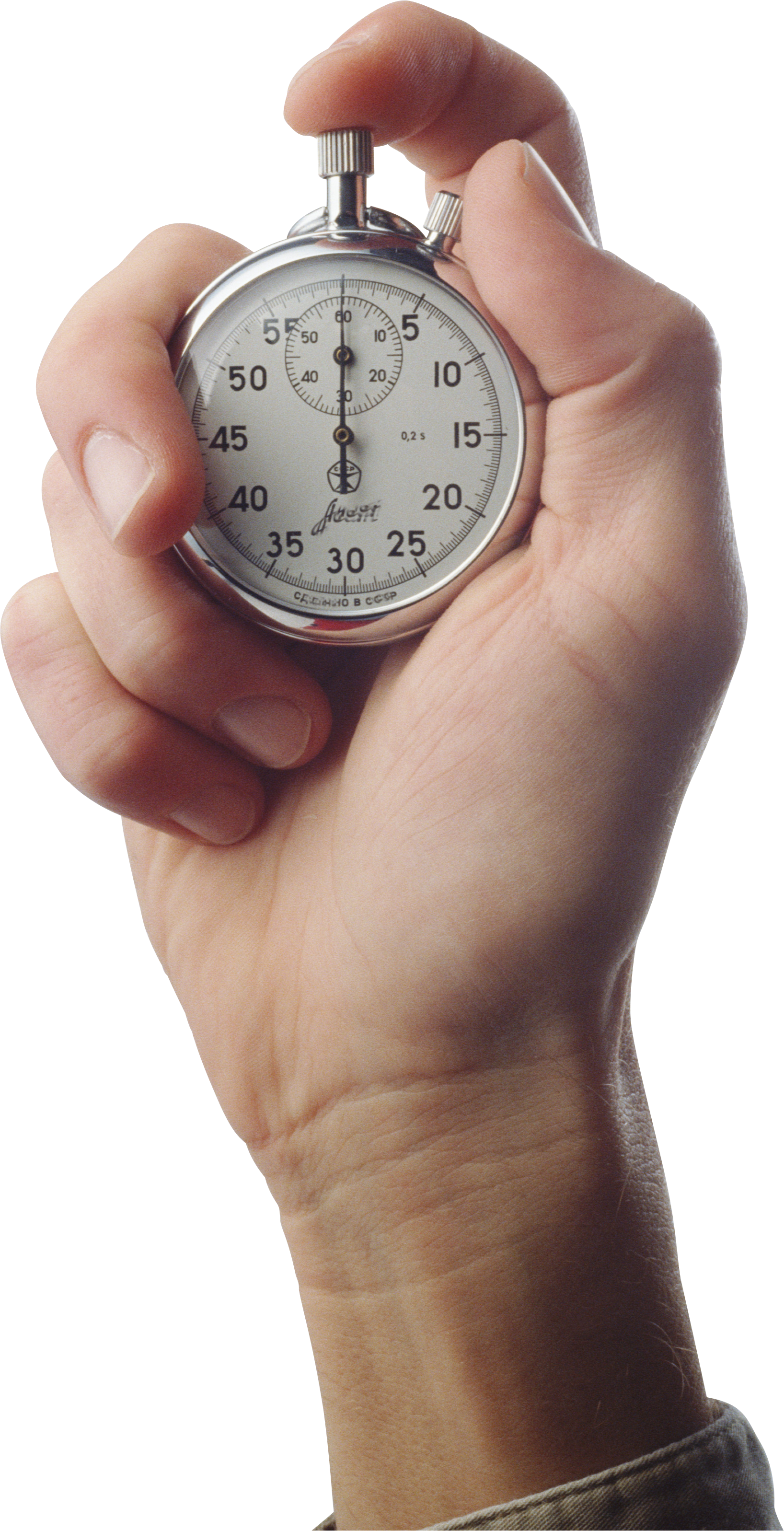 Hand pencil and in. Hands clipart stopwatch