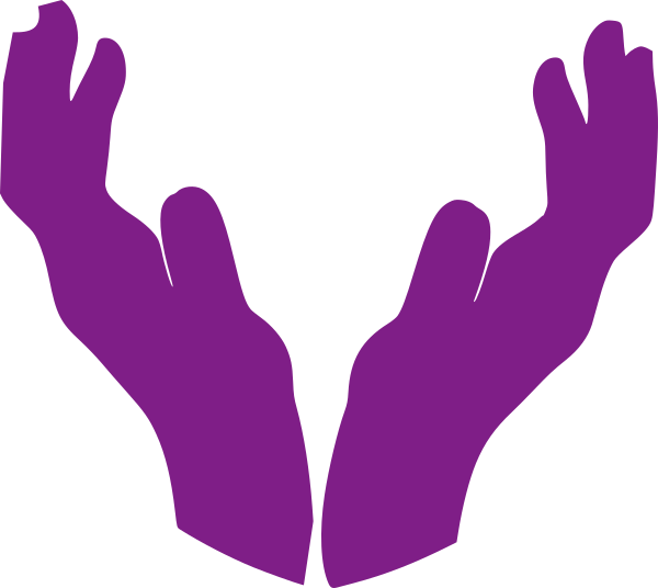 Hand clipart unity. Open hands clip art