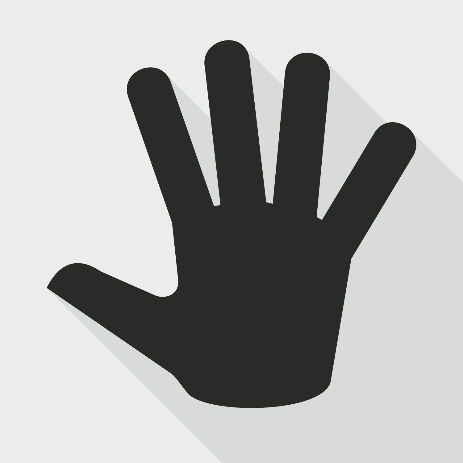 Free hand silhouette download. Clipart hands vector