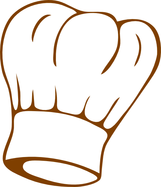 Hand clipart waiter. Chef hat clip art