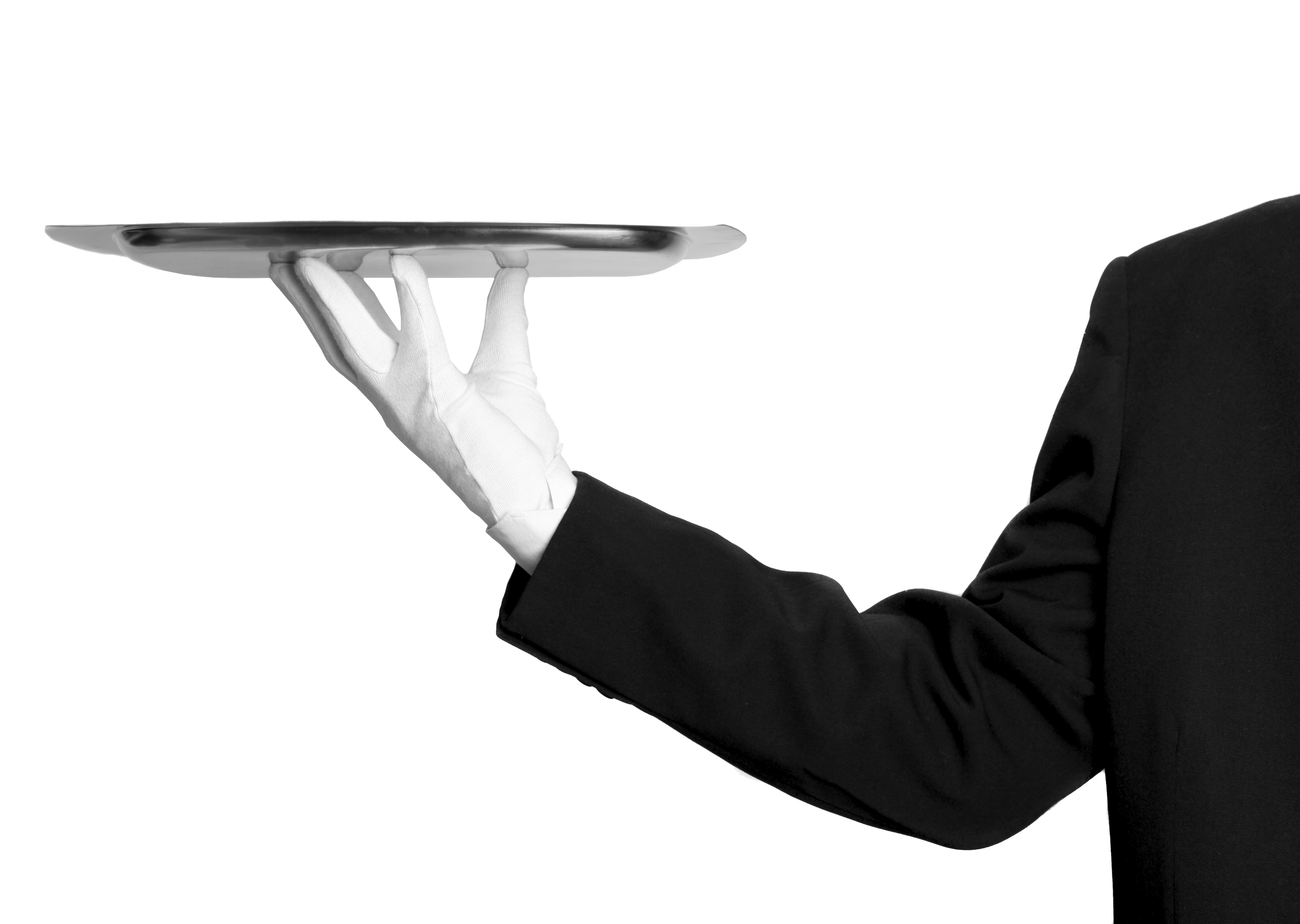Waitress clipart hand. Waiter png image purepng