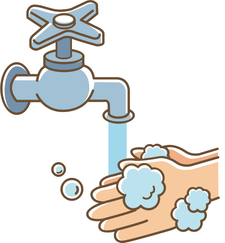 Clipart hand wash. Your hands medium image