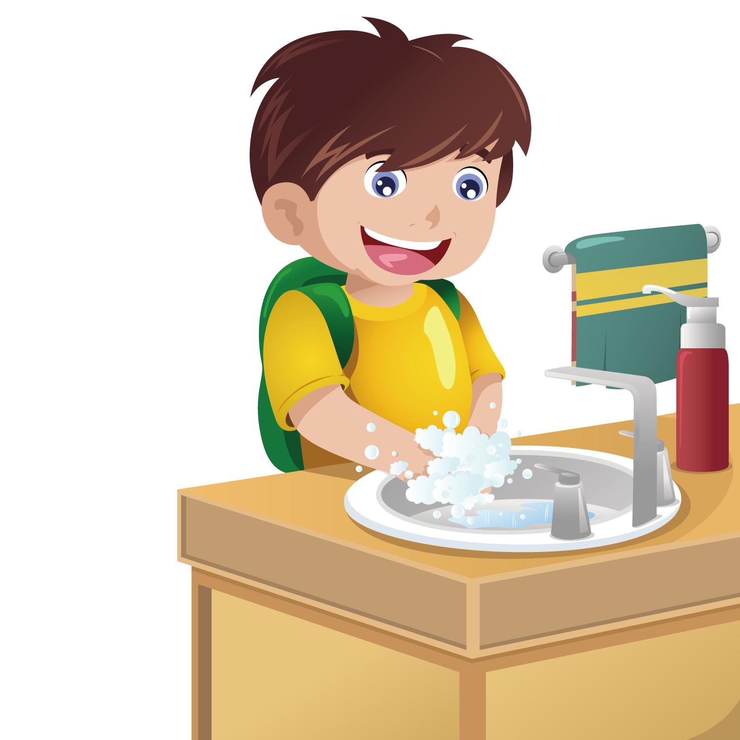 Toddler clipart washing hand. Boy hands best royalty