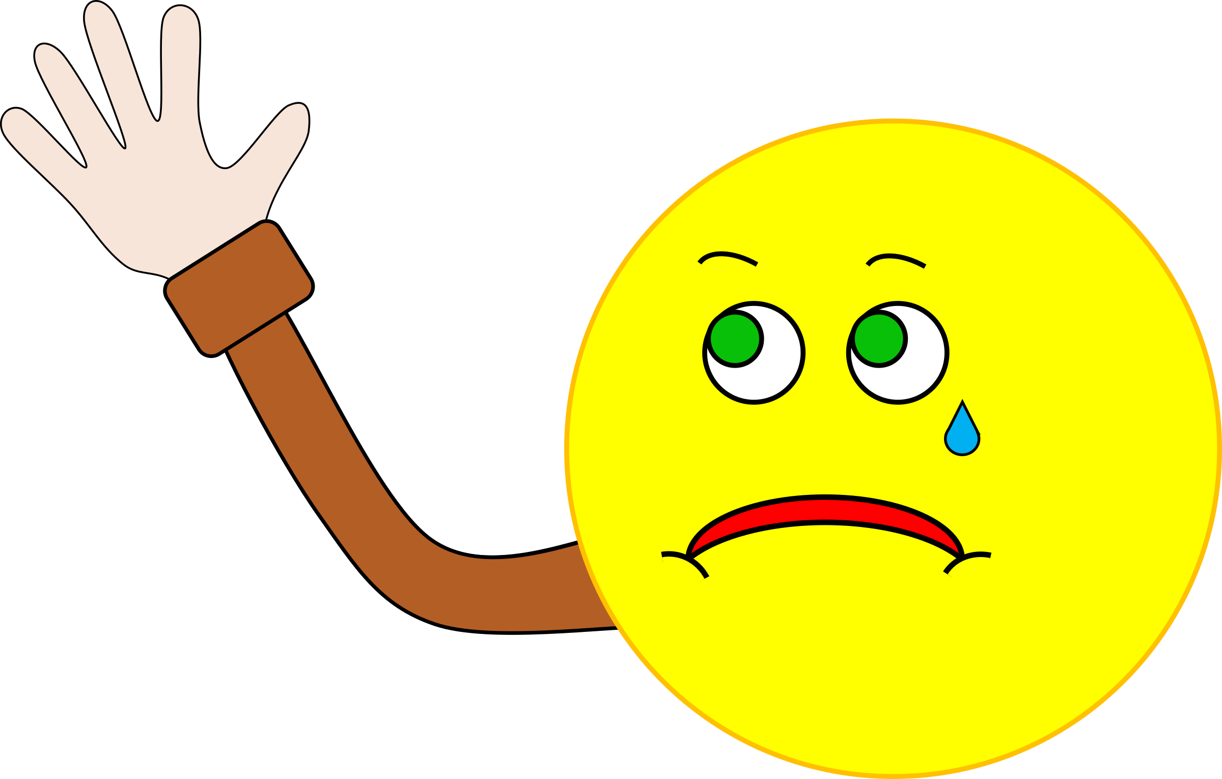 Hand clipart wave goodbye. Png hd waving transparent