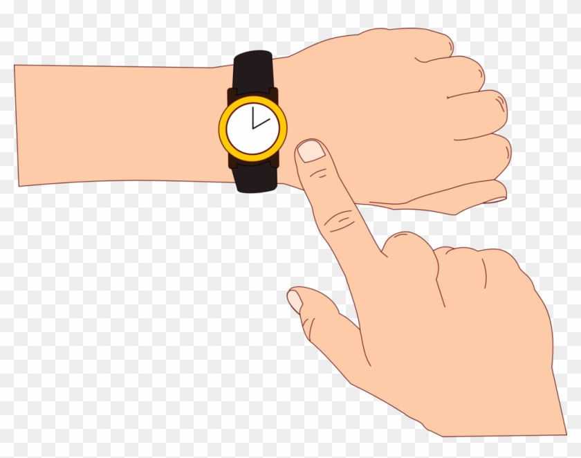 Hand clipart wrist. Watch download doushiyouka educational