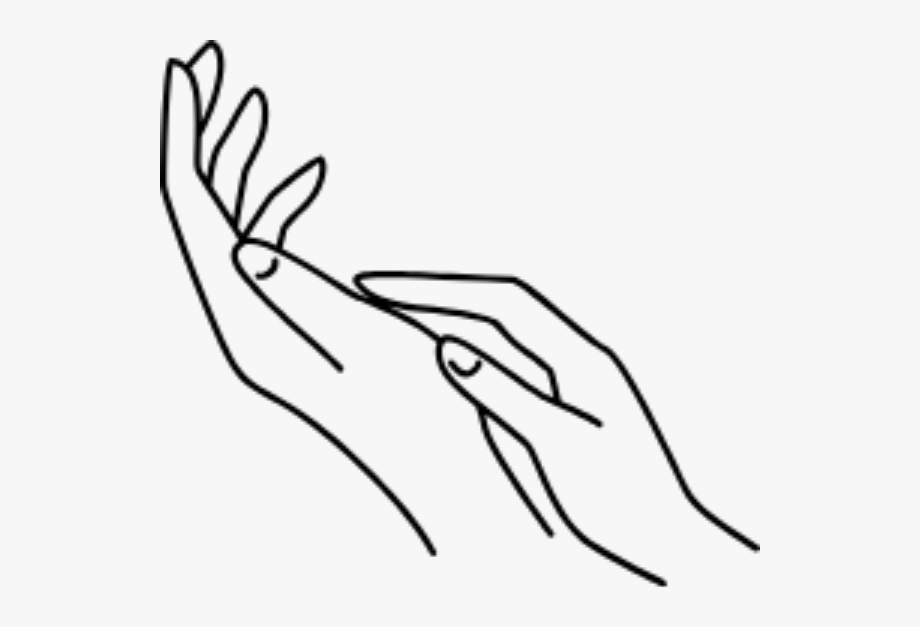 Start at the use. Hand clipart wrist