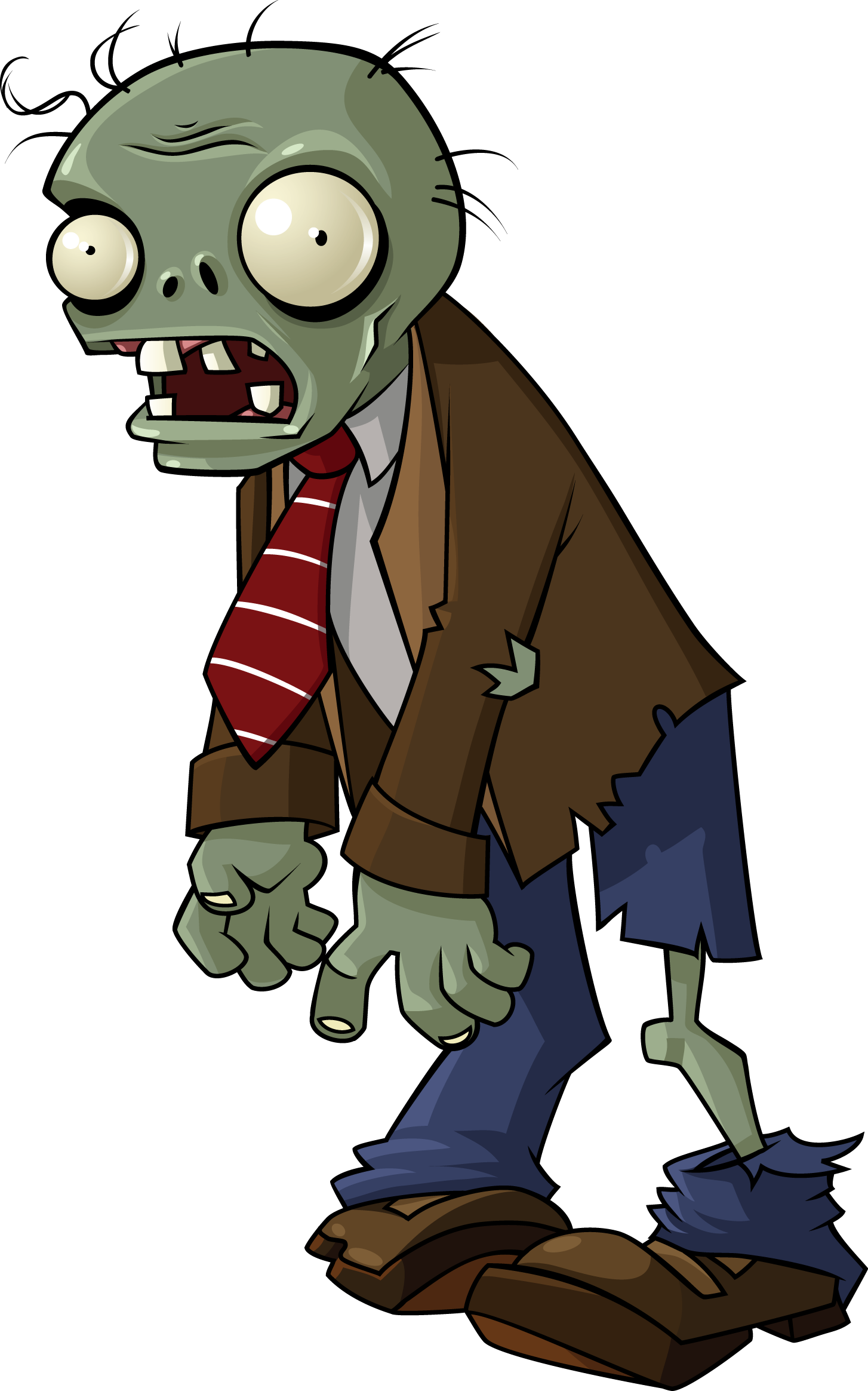 Zombies plants vs deadliest. Conflict clipart protagonist