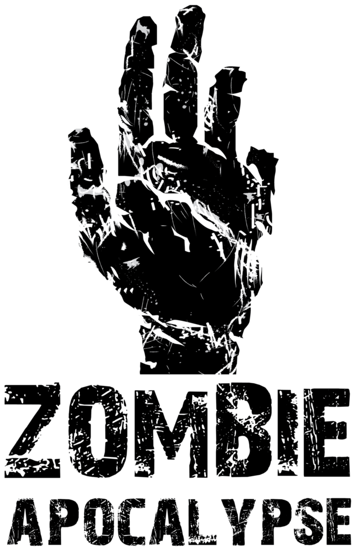 Apocalypse reaching out of. Hand clipart zombie