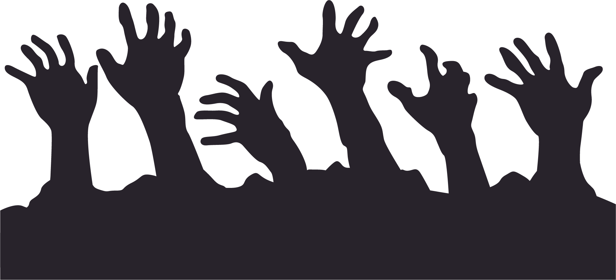 Hand clipart zombie. Png transparent free images
