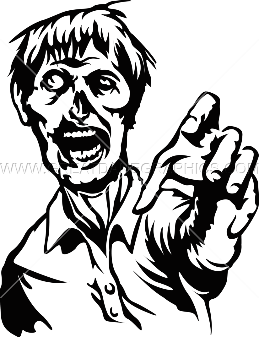 Zombie clipart hands. Reach production ready artwork