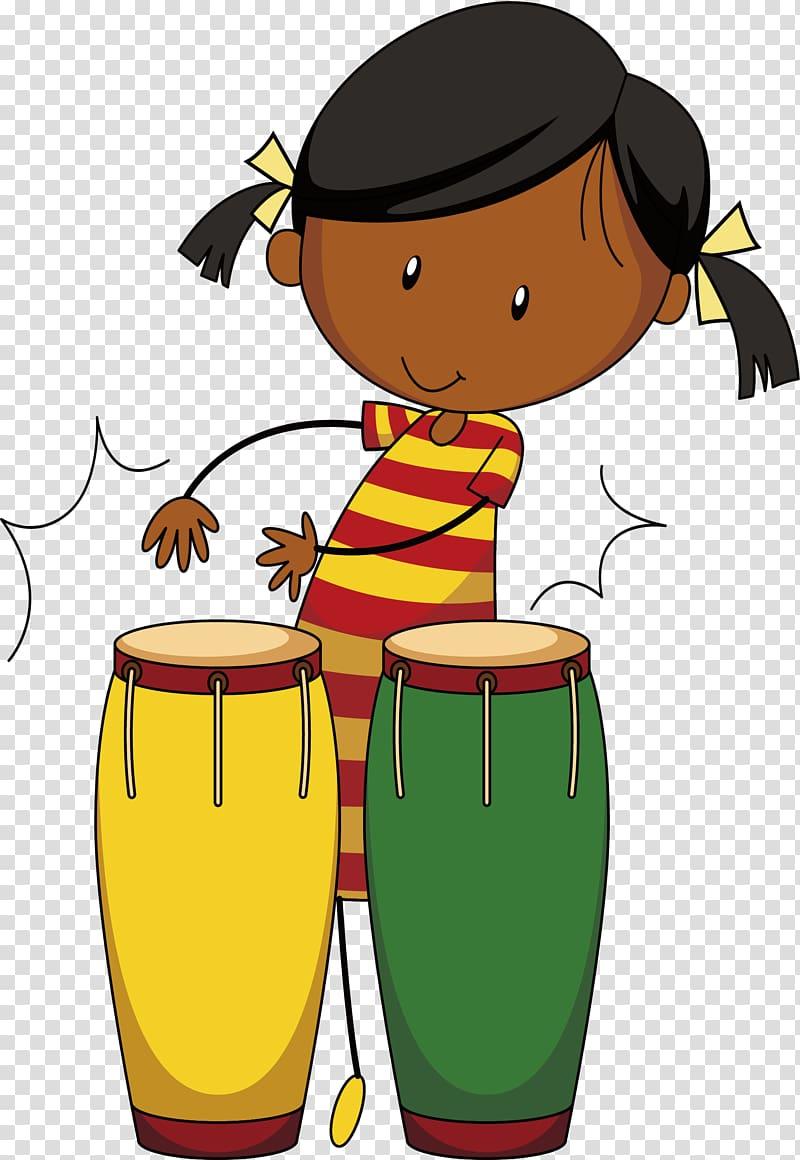 Drums clipart drum beat. Drummer african transparent background