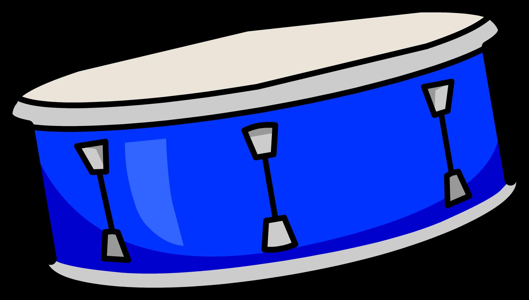 drum clipart blue drum