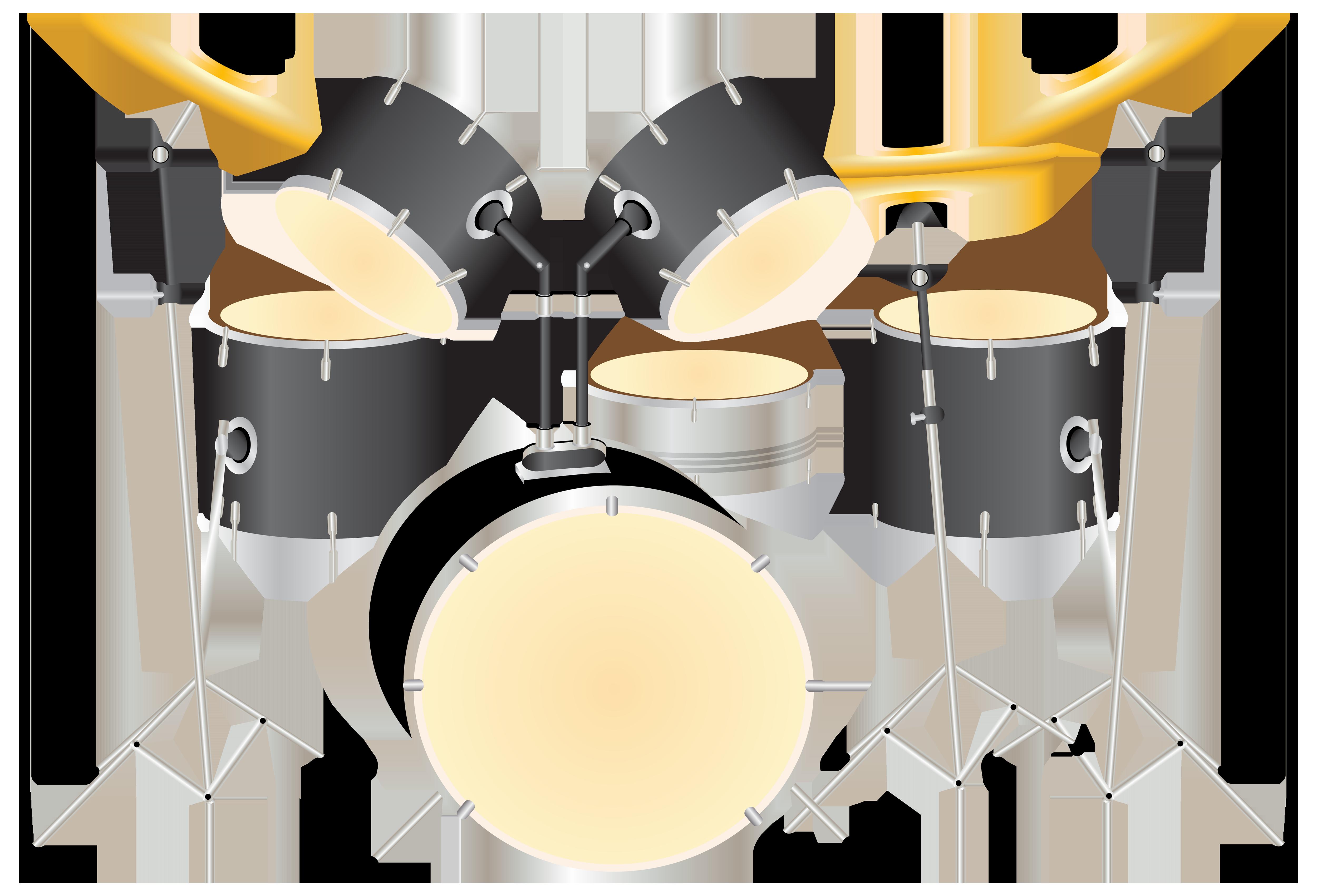 Kit png best web. Drums clipart big drum