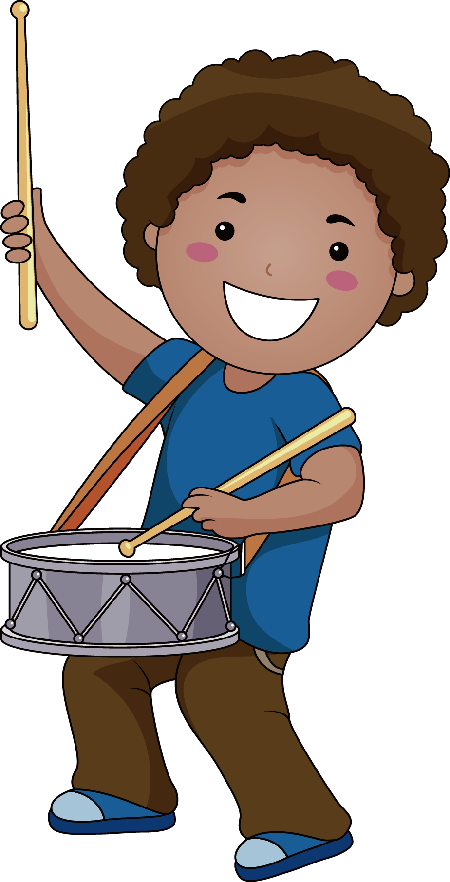 Musical instrument drawing clip. Hands clipart drumming