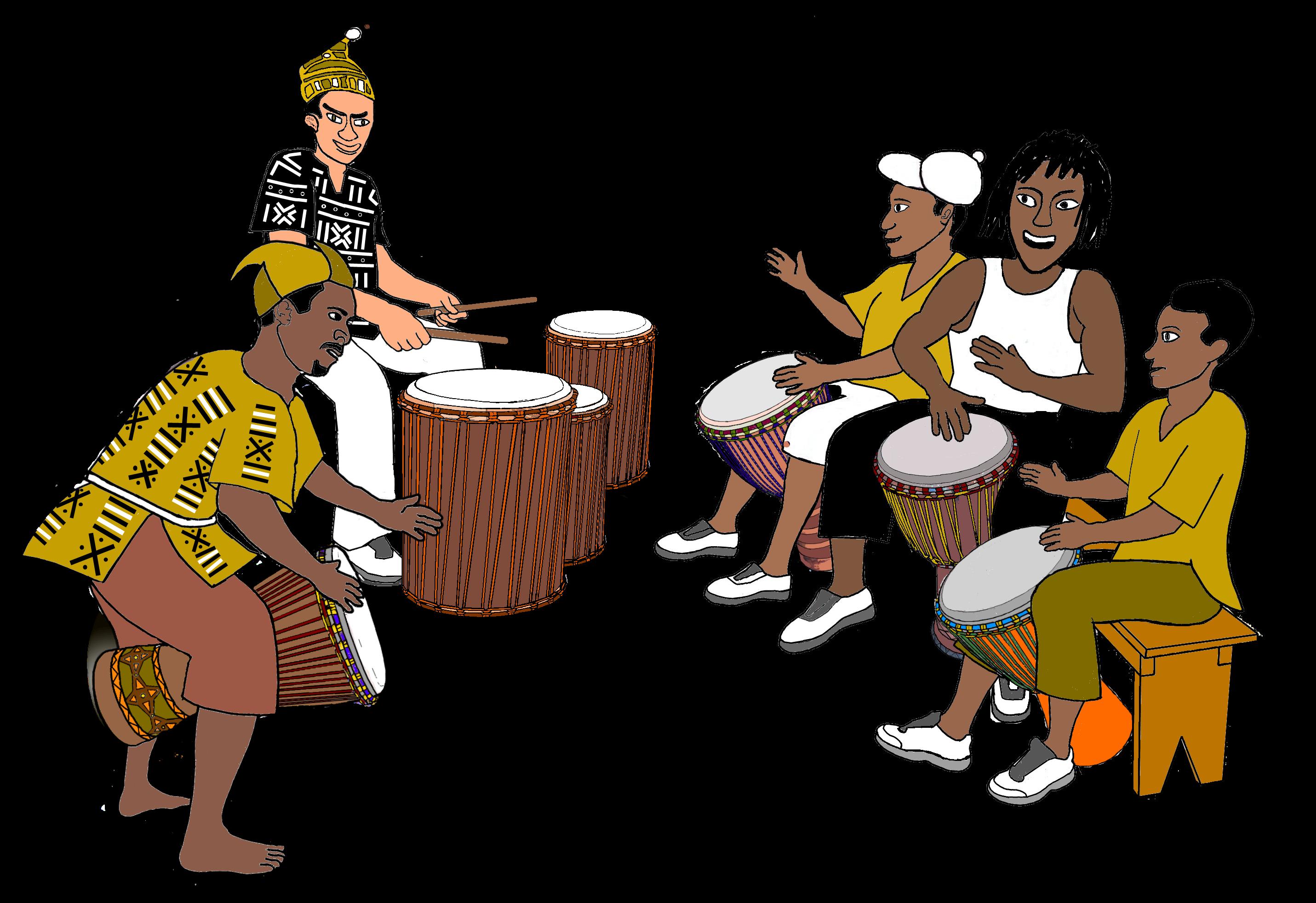 drums clipart hand drum