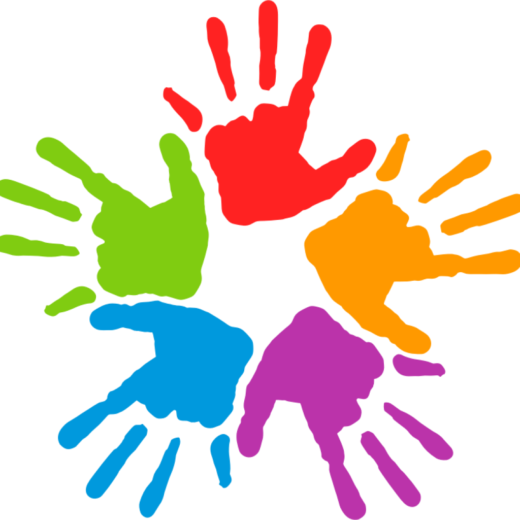 Hand clip art free. Handshake clipart colorful