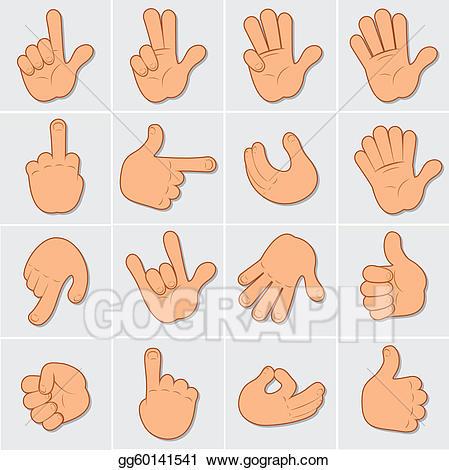 Eps vector clip art. Hands clipart human hand