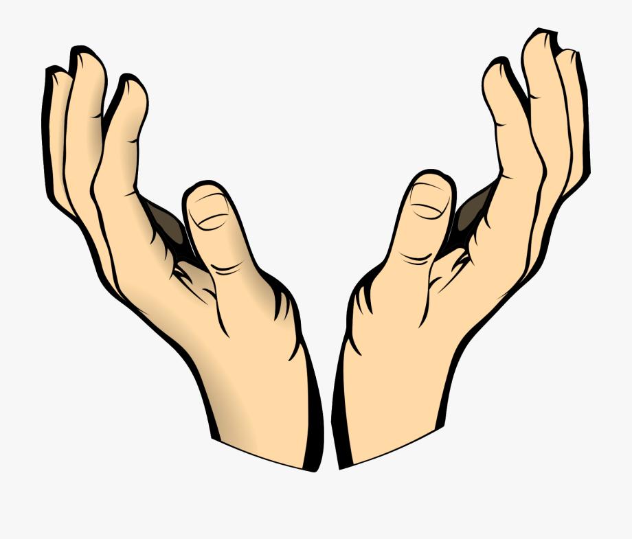 Hands clipart human hand. Body raised catch pray
